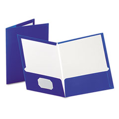 OXF51701 - Oxford® Laminated Two-Pocket Portfolio