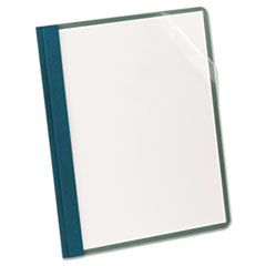 OXF57872 - Earthwise® by Oxford® 100% Recycled Clear Front Report Cover