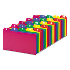 OXF73153 - Oxford® Durable Poly A-Z Card Guides