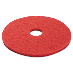 PAD4017RED - Standard 17-Inch Diameter Buffing Floor Pads