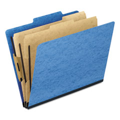 PFX1257LB - Pendaflex® Six-Section PressGuard® Colored Classification Folders