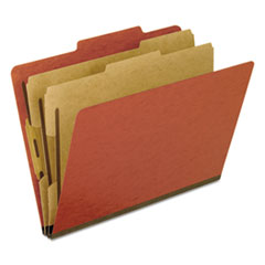 PFX1257R - Pendaflex® Four-, Six-, and Eight-Section Pressboard Classification Folders