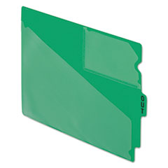 PFX13543 - Pendaflex® Colored Vinyl Outguides with Center Tab