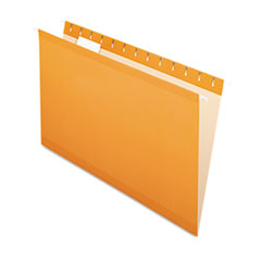 PFX415315ORA - Pendaflex® Colored Reinforced Hanging File Folders