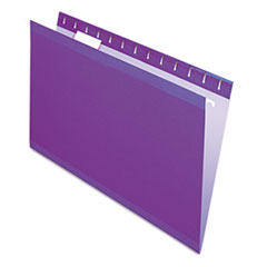 PFX415315VIO - Pendaflex® Colored Reinforced Hanging File Folders