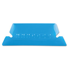 PFX42BLU - Pendaflex® Transparent Colored Tabs For Hanging File Folders