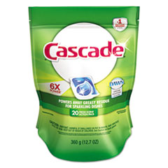 PGC41759 - Cascade® 2in1 ActionPacs® Automatic Dishwasher Detergent
