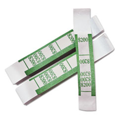 PMC55028 - PM Company® Color-Coded Kraft Currency Straps