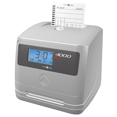 PMD4000PRO - Pyramid4000Pro Auto Totaling Time Clock