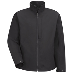 UNFJP66BK-RG-L - Red KapMens Soft Shell Jacket