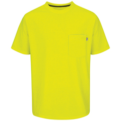 UNFRT32SY-SS-M - Red KapMens Performance Workwear Visibility T-Shirt