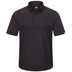 UNFSK90BK-SS-5XL - Red KapMens Workwear Polo Shirt