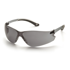 PYRS5820ST - Pyramex Safety ProductsItek® Eyewear Gray Anti-Fog Lens with Gray Temples