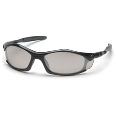 PYRSB4380D - Pyramex Safety ProductsSolara™ Eyewear IO Mirror Lens with Black Frame