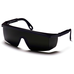 PYRSB450SF - Pyramex Safety ProductsIntegra® Eyewear 5.0 IR Filter Lens with Black Frame