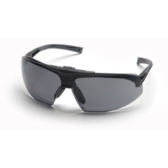 PYRSB4920STP - Pyramex Safety ProductsOnix Plus™ Clear Anti-Fog Lens/Gray Flip Lens with Black Frame