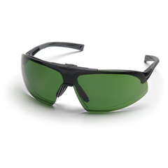 PYRSB4960STP - Pyramex Safety ProductsOnix Plus™ Clear Anti-Fog Lens/3.0 IR Flip Lens with Black Frame