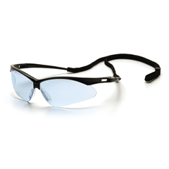 PYRSB6360SP - Pyramex Safety ProductsPMXTREME™ Eyewear Infinity Blue Lens with Black Frame & Cord