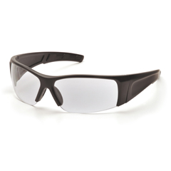 PYRSB6910D - Pyramex Safety ProductsPMXTORQ™ Eyewear Clear Lens with Black Temples