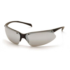 PYRSCF6870D - Pyramex Safety ProductsPMX5050™ Eyewear Silver Mirror Lens with Carbon Fiber Frame