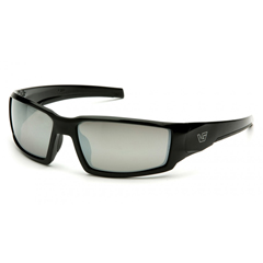 PYRVGSB570T - Pyramex Safety ProductsPagosa Eyewear Silver Mirror Anti-Fog Lens with Black Frame