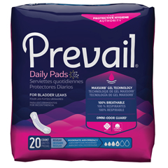 MON30133100 - First QualityPrevail® Bladder Control Pad