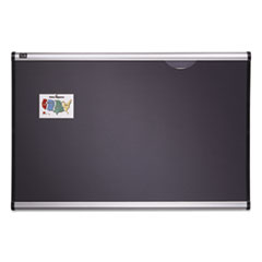QRTB444A - Quartet® Prestige™ Gray Diamond Mesh Bulletin Board