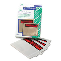 QUA46894 - Quality Park™ Self-Adhesive Packing List Envelope