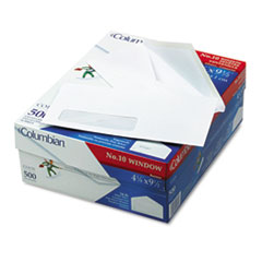 QUACO170 - Columbian® Poly-Klear® Single Window Envelope