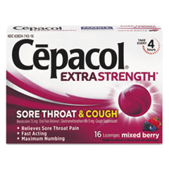 RAC74016 - Cepacol® Sore Throat and Cough Lozenges