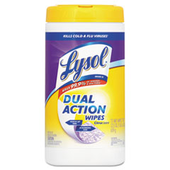 RAC81700 - LYSOL® Dual Action™ Disinfecting Wipes - Citrus