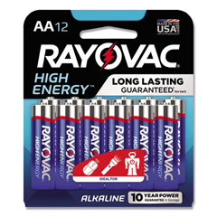 RAY81512CF - Rayovac® Alkaline Batteries