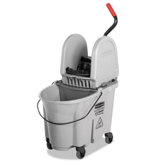 RCP1863899 - Rubbermaid® Commercial Executive WaveBrake™ Down-Press Mop Bucket