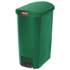 RCP1883585 - Rubbermaid® Commercial Slim Jim® Resin Step-On Container