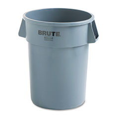 RCP264300GY - Rubbermaid® Commercial Round Brute® Container