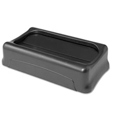 RCP267360BK - Rubbermaid® Commercial Slim Jim® Swing Lid