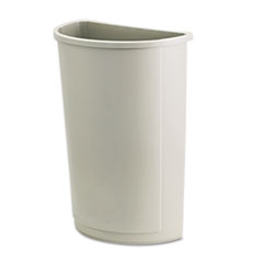 RCP352000BG - Rubbermaid® Commercial Untouchable® Half-Round Plastic Receptacle