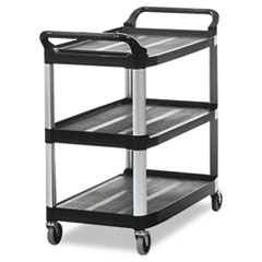 RCP409100BLA - Rubbermaid® Commercial Open Sided Utility Cart
