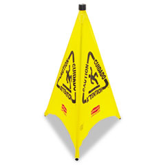 RCP9S0100YL - Rubbermaid® Commercial Multilingual Pop-Up Safety Cone