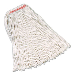 RCPF119WHI - Rubbermaid® Commercial Non-Launderable Premium Cut-End Cotton Wet Mop Heads