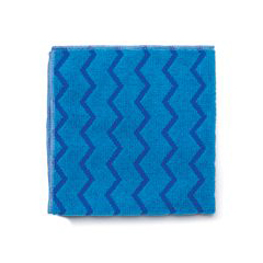 RCPQ620 BLU - HYGEN™ Microfiber Cleaning Cloths, Blue