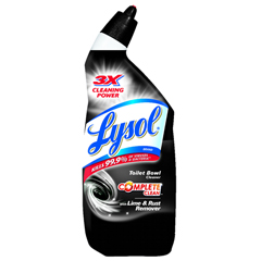 REC80088 - LYSOL® Toilet Bowl Cleaner with Lime & Rust Remover