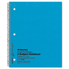 RED33386 - National® Brand Three-Subject Wirebound Notebooks