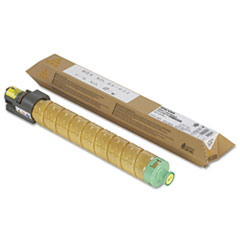 RIC820008 - Ricoh 820008 High-Yield Toner, 15000 Page-Yield, Yellow