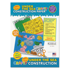 RLP02806 - Roselle Vibrant Art Crafty Printed Construction Paper