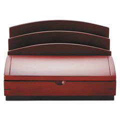 ROL19290 - Rolodex™ Executive Woodline II® Desk Organizer
