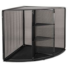 ROL62630 - Rolodex™ Mesh Corner Desktop Shelf