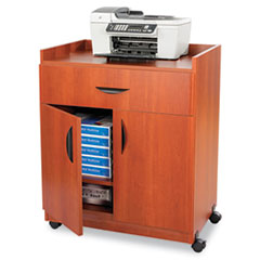 SAF1852CY - Safco® Mobile Laminate Machine Stand With Pullout Drawer