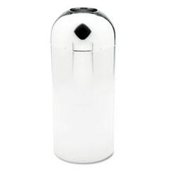 SAF9875 - Safco® Dome Top Receptacle with Open Top