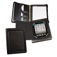 SAM15600 - Samsill® iPad Zipper Binder With Magnetic Flap
